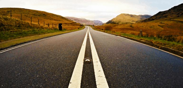 Planejando sua viagem por estrada no País de Gales