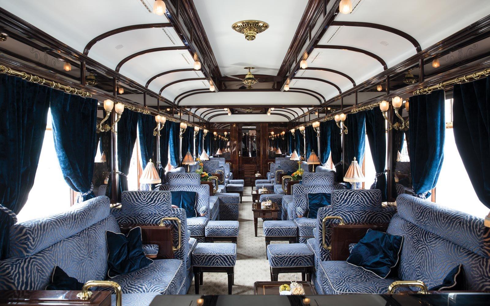 Viaje de Veneza a Londres no estilo Gatsby neste trem de luxo com tema dos anos 20