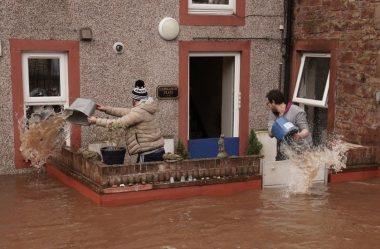 Inundações costeiras alertam no Reino Unido com aumento do nível do mar