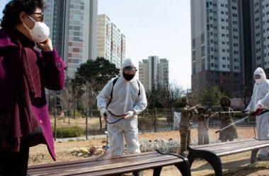 Coréia do Sul registra menor número de novos casos em quatro semanas
