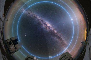"""Os principais telescópios da Europa """"podem enfrentar o desafio dos satélites"""""""
